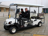 Golf buggy customers