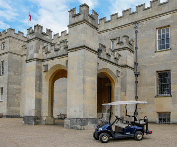 Golf buggies for Syon Park supplied by Motorculture Limited